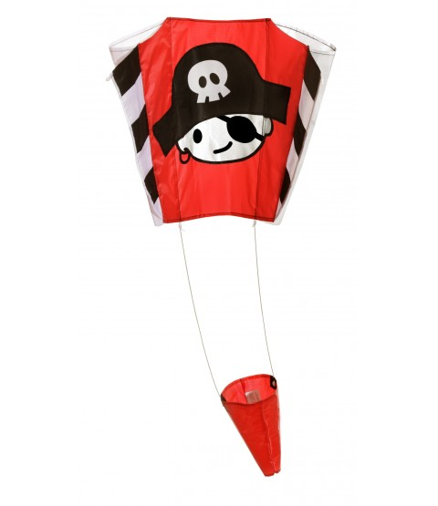 Wolkenstürmer Children's Pirate Jack Pocket Kite - 65cm x 45cm - Single Line