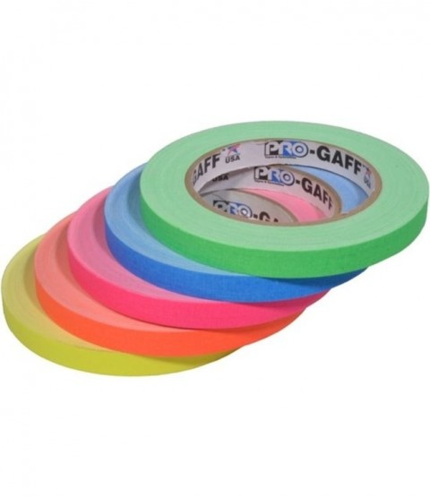 Pro-Gaff Fluorescent Tape 12mm x 23m