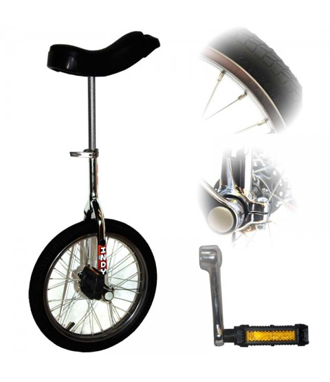 """Deluxe Indy Trainer 16"""" Unicycle"""