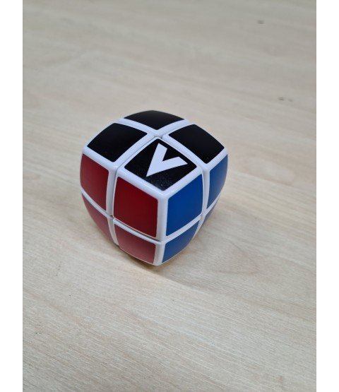V-Cube 2b - White 2x2x2 - Pillow Speed Cube Puzzle - Bargain basement - RRP £8.99