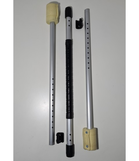 Collapsable and adjustable fire staff 1.1m - 1.5m - Bargain basement - £74.99