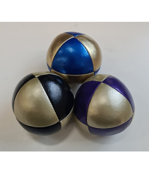 120g Juggle Dream 8-panel Squeeze Thud Juggling Ball - Mixed colours set of 3 - Bargain basement - RRP £11.85