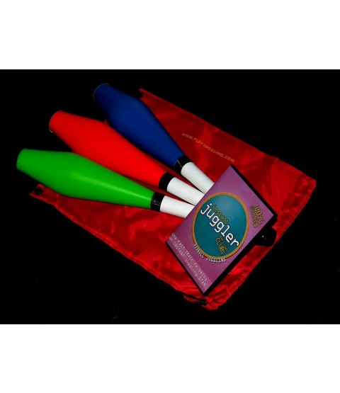3 x PX3 Circus Club + Club Bag + Instant Juggler- Clubs DVD