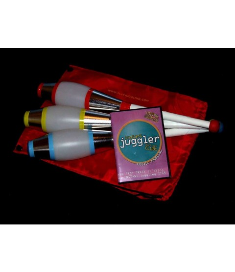 3 x PX3 Vegas Club + Club Bag + Instant Juggler - Clubs DVD