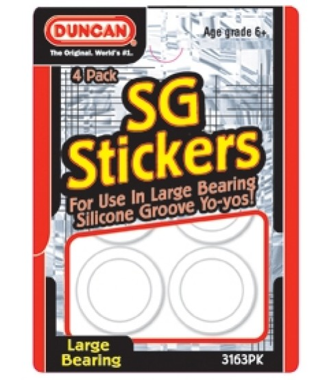 Duncan Silicone Groove Sticker 14.5 mm
