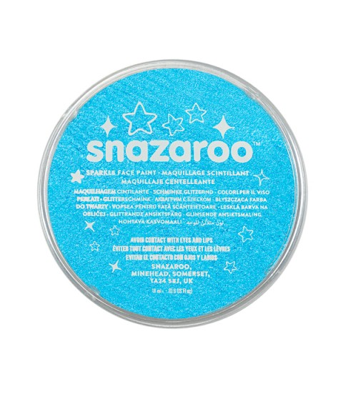 Snazaroo 18ml Face Paint Pots - Various Sparkle Colours Available
