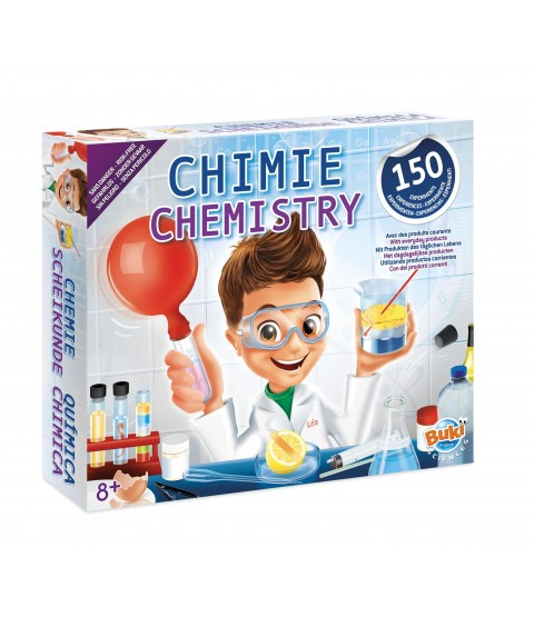 BUKI Chemistry Lab - With 150 Experiments
