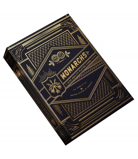 Theory 11 Blue Monarch Playing Card