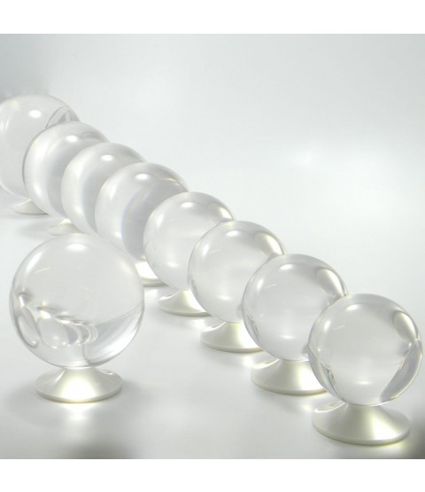 80mm Clear Acrylic Contact Juggling Ball