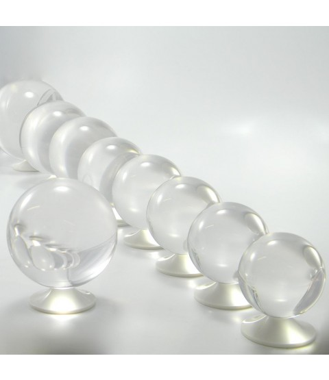Juggle Dream 85mm Clear Acrylic Contact Juggling Ball