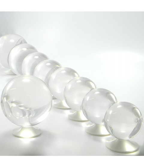Juggle Dream 90mm Clear Acrylic Contact Juggling Ball