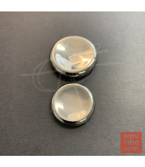 AroundSquare Deadeye Stainless Large Contact Coin - Mirror