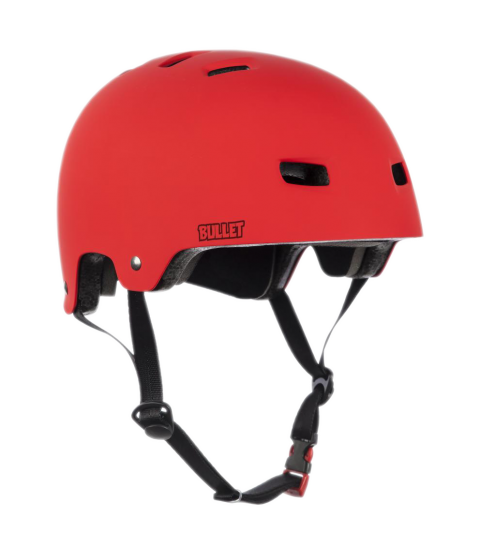 Bullet Helmet Matt Red