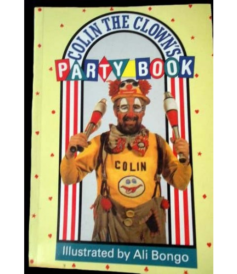 Colin the Clown Party Book