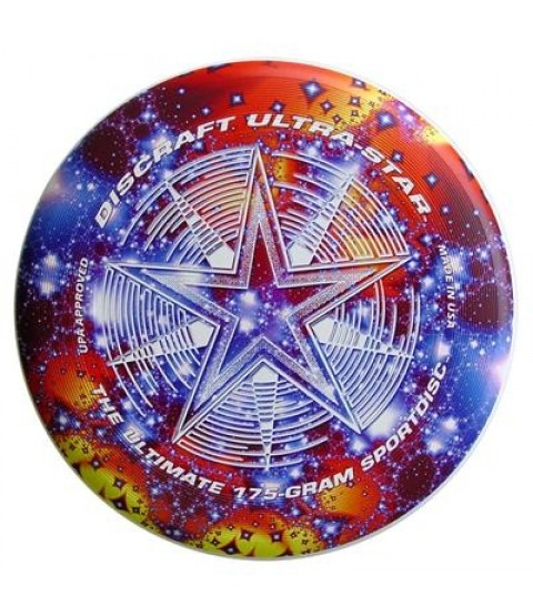 Discraft SuperCOLOR Ultra-Star Starscape Frisbee Sports Disc