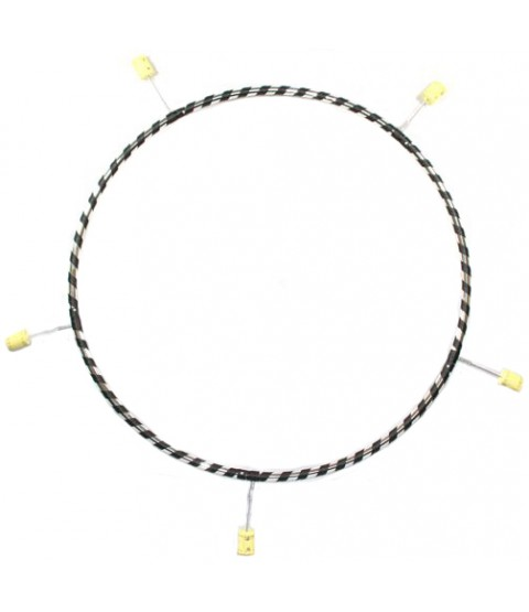 Gora - 5 Section Poly Pro Travel Fire Hula Hoop