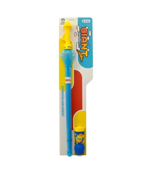 Uncle Bubble Unbelievabubble Sword - Large - (Round Knob) - Blue & Yellow