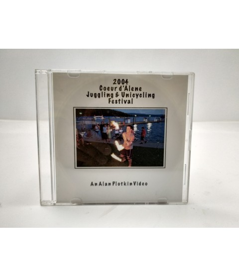 2004 Coeur d`Alene Juggling & Unicycling Festival DVD