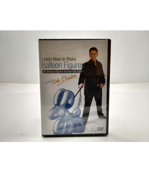 Learn how to make Balloon figures with Niels Duinker DVD