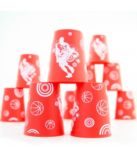 UFO Printed Stacking Cup Set