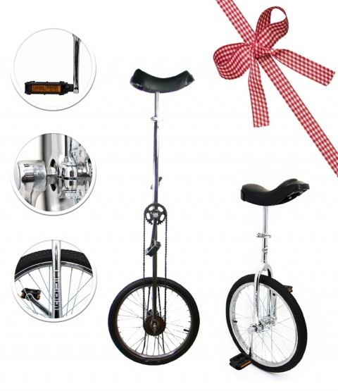 "Deluxe Indy Trainer 20"" Unicycle - Indy 20"" (1.5m) Giraffe Unicycle - RRP £209.98"