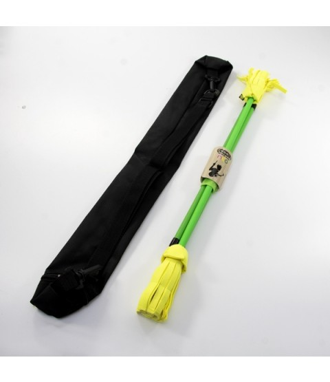 Juggle Dream Neo Flower Stick, Handsticks and Devilstick Bag