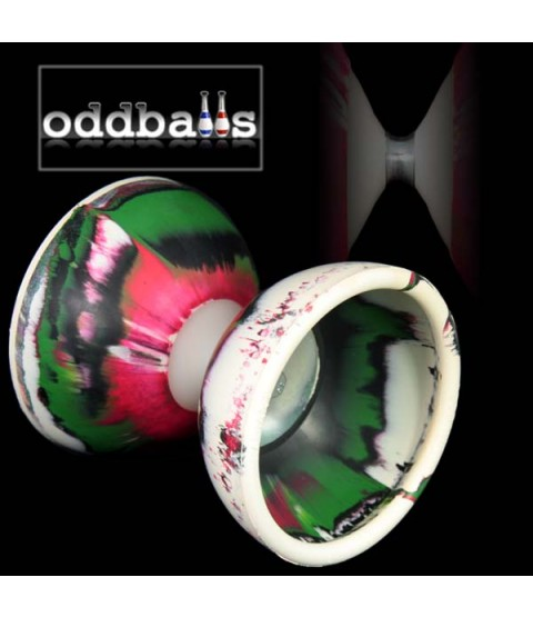 Oddball Radiant Diabolo & Wooden Sticks (10 sets)