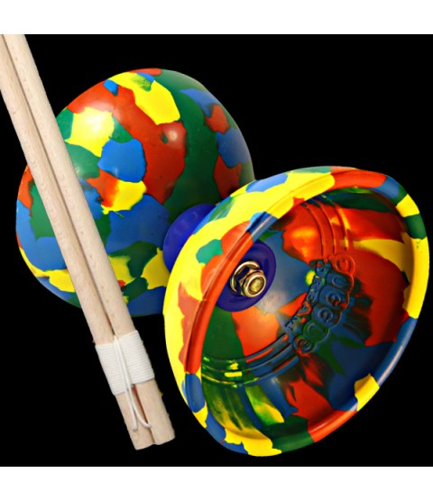 Juggle Dream Jester Diabolo & Basic Wooden Hand Sticks