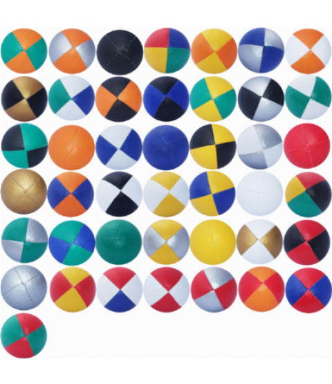 30 x quality coloured juggling balls thuds bulk deal - good for workshops - RRP- £105