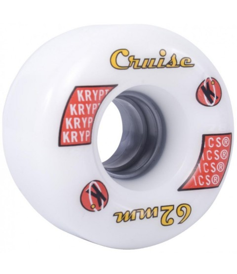 Kryptonics | Cruise Quad Wheels - Set of Eight - Various Colours Available