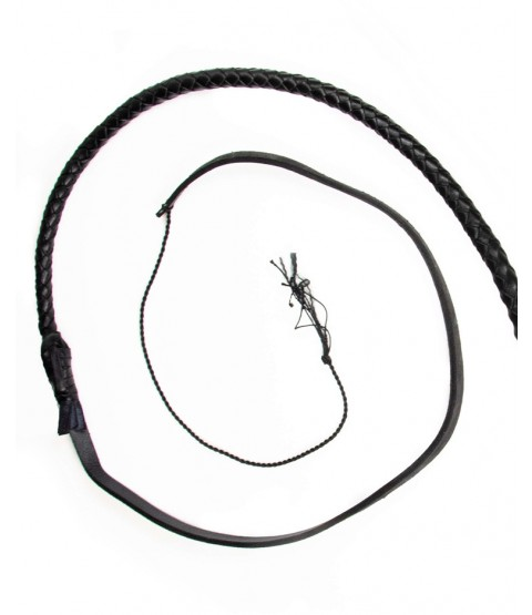 Falcon 8 Foot Leather Bullwhip