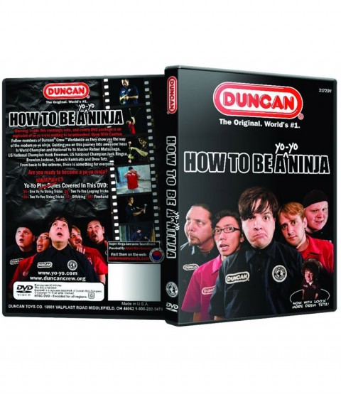 Duncan How To Be a Yo-Yo Ninja Instructional DVD