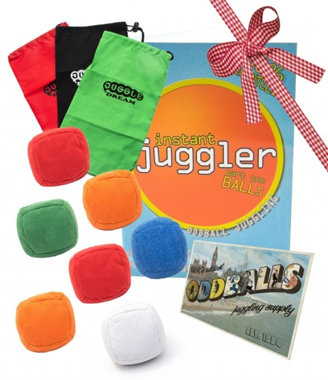 7 Juggle Dream Mini Uglies Juggling Balls - Postcard - Bag - DVD - RRP £43.49