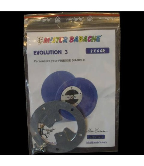 Mr Babache Evolution Kit 3, 6g weight kit