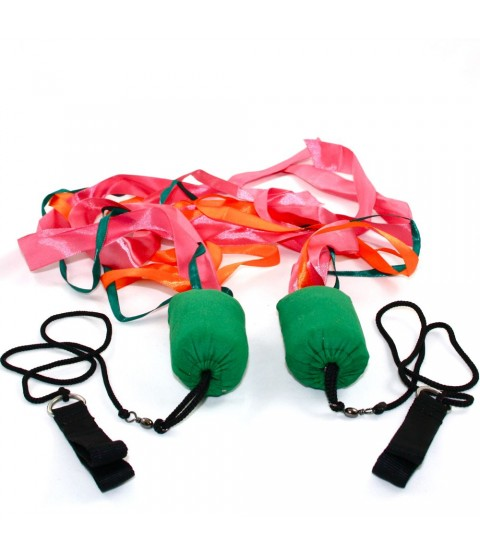 Juggle Dream Ribbon Poi - Various Colours Available