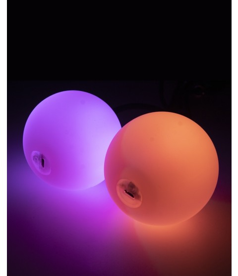 Oddballs 95mm LED Contact Poi - USB Rechargeable