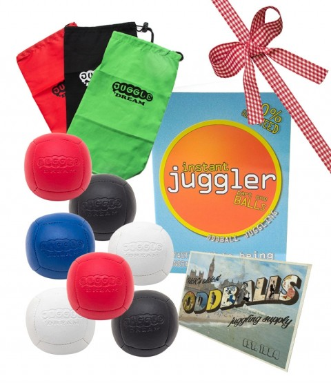 7 Juggle Dream Pro Sport 90 gram Juggling ball - Postcard - Bag - DVD - RRP £60.64
