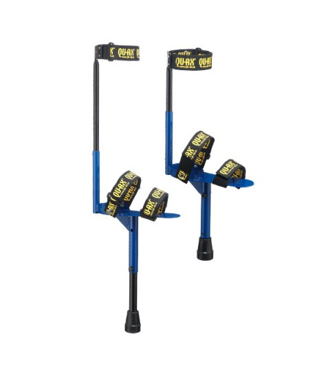Qu-ax Adjustable peg stilts.