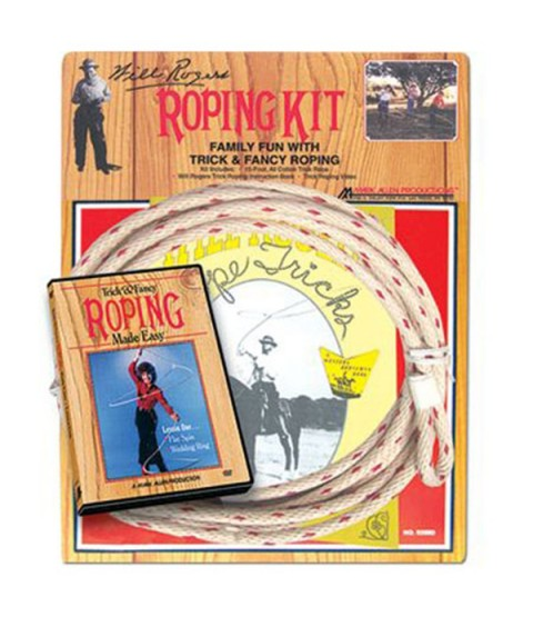 Will Rogers Roping Kit Deluxe
