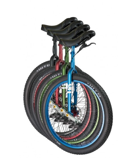 custom QX #rgb Disc Muni 29″ Unicycle
