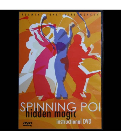 Spinning Poi Hidden Magic (DVD)