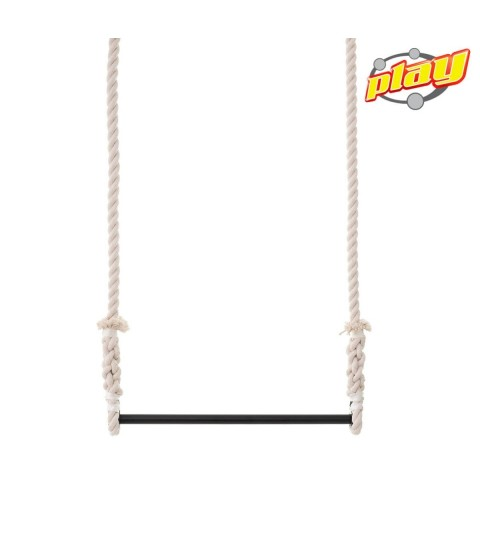 STATIC TRAPEZE with 100% cotton ropes (25mm Rope) - Bar Width : 50 cm