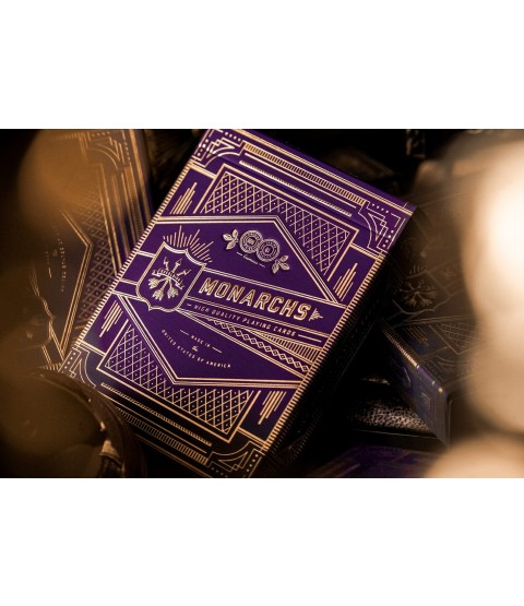 Purple Monarch Playing Cards | theory11