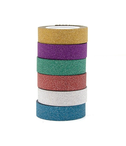 Top Flight 15mm X 10m Glitter Tape - Spinning