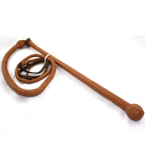 8' Leather Stock Whip