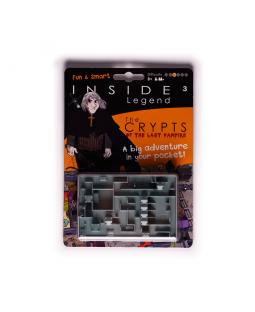 Inside3 Legends Series Handheld Labyrinth Puzzle - The Crypt