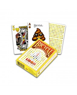 Bicycle Emoji Playing Card Deck