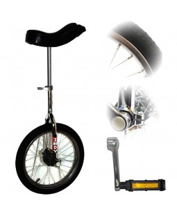 "Deluxe Indy Trainer 16"" Unicycle"