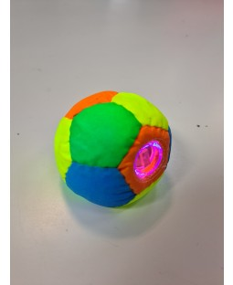 Juggle-Light 12-Panel Pro LED Footbag -Multi colour - White light - Bargain basement - RRP £11.99