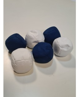 Juggle dream Seconds - Sets of 30 balls - Mixed white/Blue - RRP £149.99